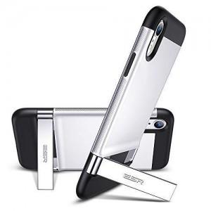 Купить Чехол с подставкой ESR Urbansoda Simplace Silver iPhone XS/X