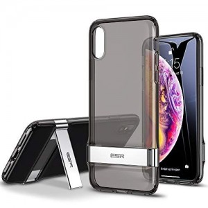 Купить Чехол с подставкой ESR Urbansoda Simplace Clear Black iPhone XS Max