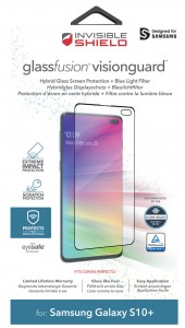 Купить Защитное стекло InvisibleShield GlassFusion VisionGuard Samsung Galaxy S10+ Screen Clear (200303047)