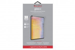 Купить Защитное стекло InvisibleShield Glass + Apple 12.9-inch  IPad Pro (2018) -Screen Clear (200102107)
