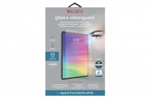 Купить Защитное стекло InvisibleShield Glass+ Vision Guard Apple 12.9-inch IPad Pro(2018)-Screen Clear (200102205)