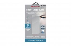 Купить Защитное стекло InvisibleShield Glass+VisionGuard - Samsung S10e-Case Friendly Screen Black (200102655)