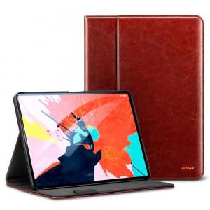 Купить Кожаный чехол с держателем для Apple Pencil ESR Intelligent Brown iPad Pro 11 2018