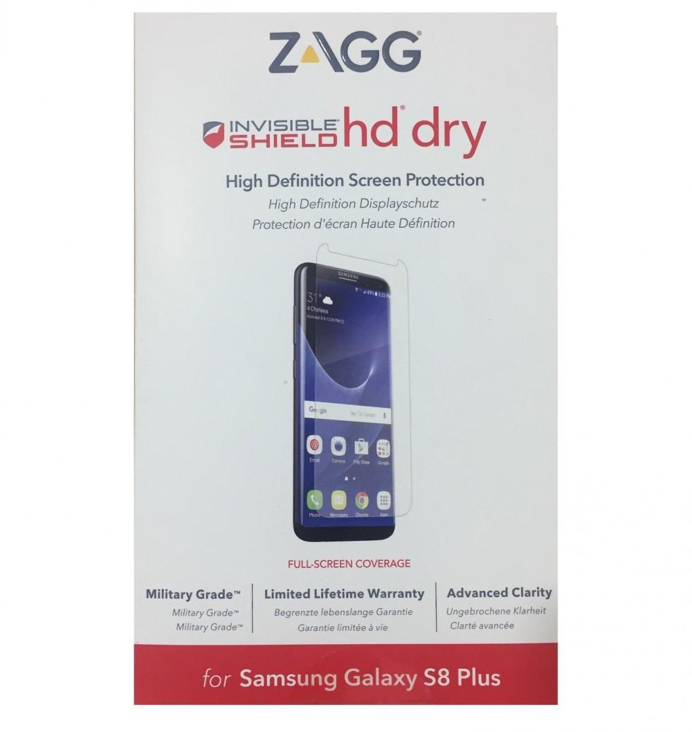 Защитная пленка InvisibleShield HD Dry - Samsung Galaxy S8 Edge - Screen Clear (G8EHDS-F00)