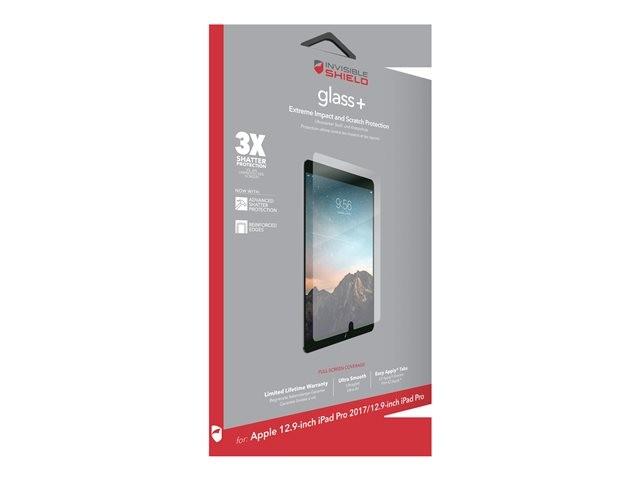 Защитное стекло InvisibleShield Glass + Apple iPad Pro 12.9  2017 - Screen Clear (200101106)