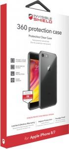 Купить Защитное стекло + чехол InvisibleShield 360 Protection Case-Apple - iPhone 8/7 Clear (200102293)