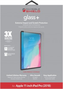 Купить Защитное стекло InvisibleShield Glass+ Apple 11-inch- IPad Pro (2018) -Screen Clear (200102108)