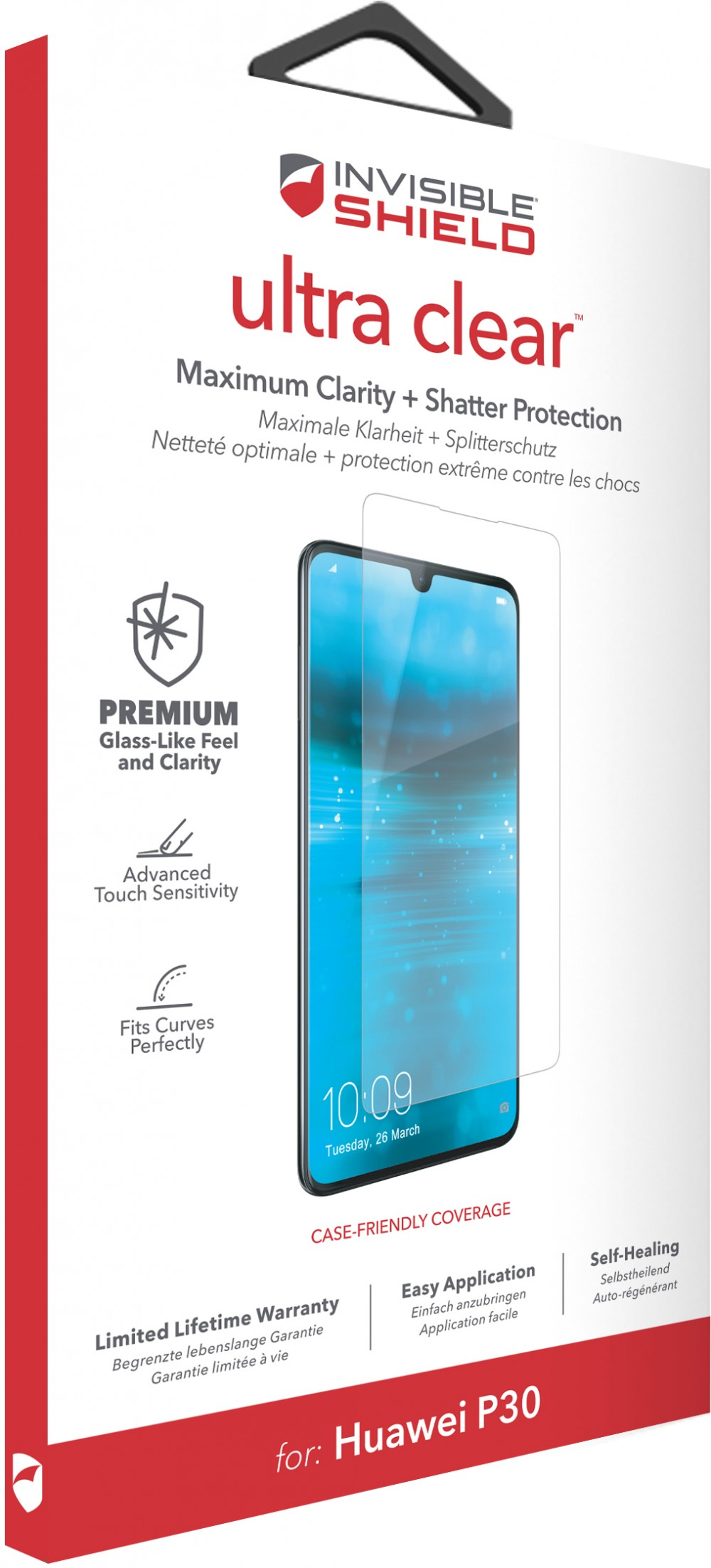 Защитная пленка InvisibleShield Ultra Clear - Huawei-P30-Screen Clear (200202741)