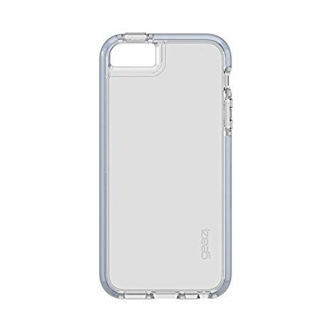 Чехол GEAR4 Piccadilly iPhone SE Silver (IC5SE03D3)