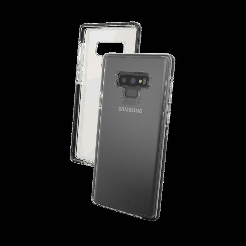 Чехол GEAR4 Samsung Galaxy Note 9 Piccadilly Black (SN9PICBLK)