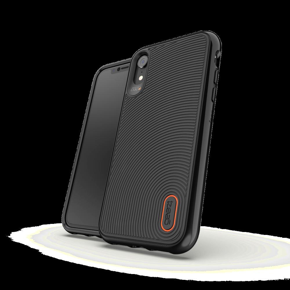 Противоударный чехол GEAR4 Battersea iPhone XR Black (IC9BTSBLK)