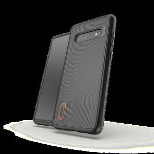 Купить Противоударный чехол GEAR4 Battersea Samsung S10 Plus Black (SGS10B2BTSBLK)