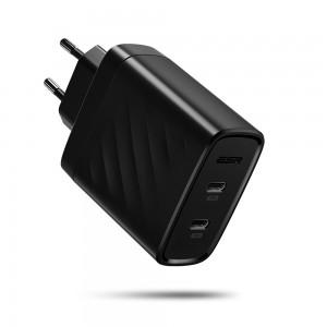 Купить Быстрое зарядное устройство ESR PD Charger EU Black 36W 2PD