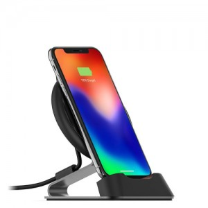 Купить Беспроводная док-станция mophie Universal Wireless-Charge Stream Desk Stand-EU Black (409902432)