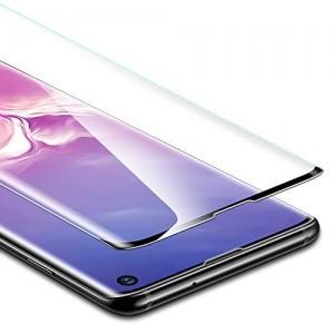Купить Полноэкранное защитное стекло ESR 3D Full Coverage Liquid Skin Film Black Edge Samsung S10