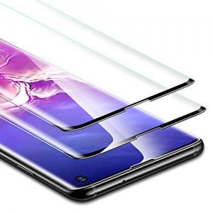 Купить Полноэкранное защитное стекло ESR 3D Full Coverage Liquid Skin Film Clear-2Pack Samsung S10 Plus