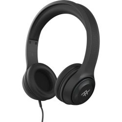 Купить Накладные наушники iFrogz Aurora Wired Headphones с микрофоном Black (IFFAWH-BK0)