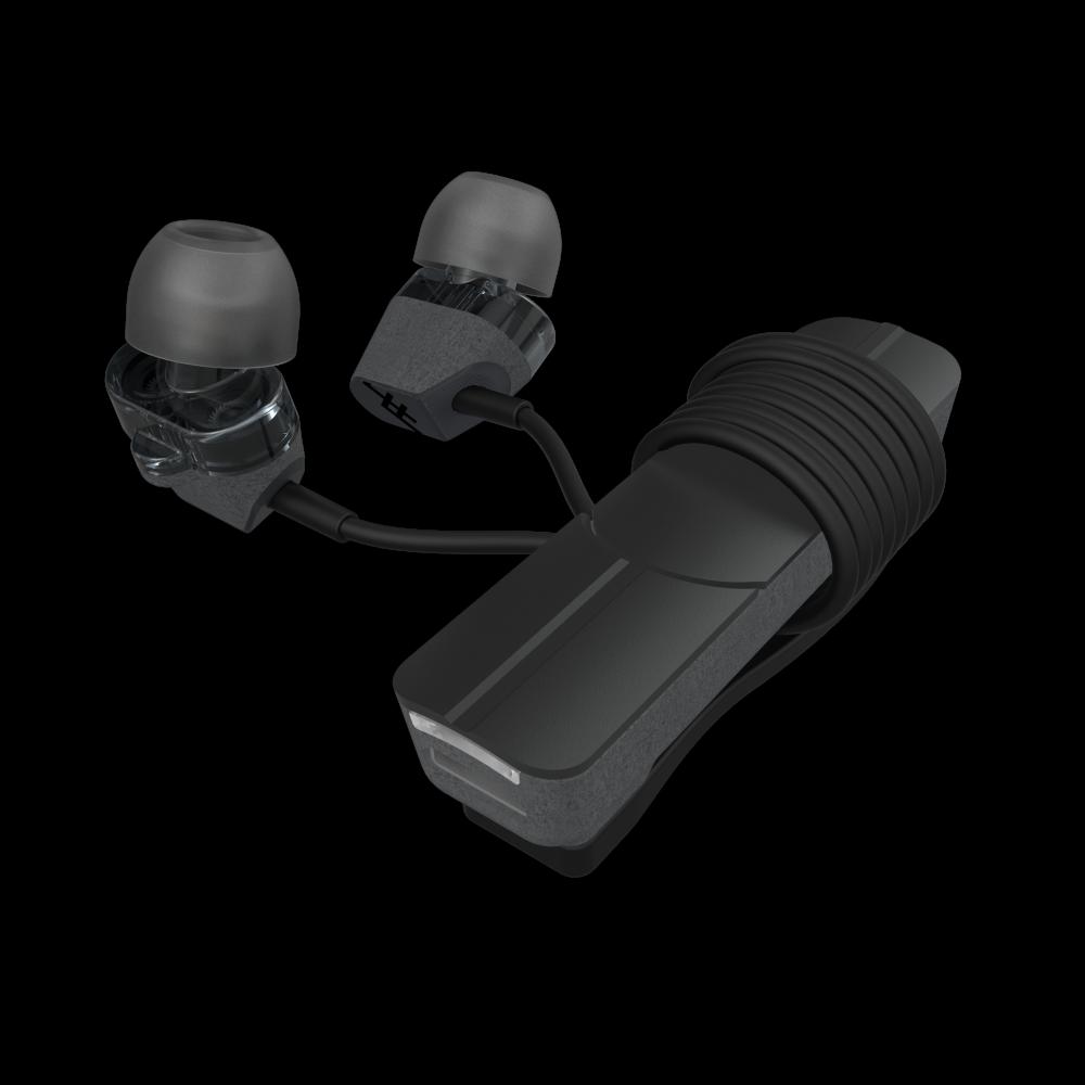 Беспроводные наушники iFrogz Impulse Duo -Dual Driver Wireless Earbuds Charcoal/Black (IFDDWE-CB0)