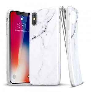 Купить Мраморный чехол ESR Marble White iPhone XS/X