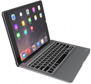 Купить Чехол-клавиатура ZAGG Slim Book Case with Keyboard для 12.9-inch iPad Pro - Black Case - UK Black (ID7ZF2-BBU)