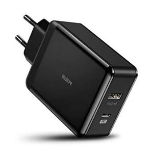 Купить Быстрое зарядное устройство ESR PD Charger EU Black 30W 1PD+1USB
