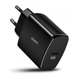 Купить Быстрое зарядное устройство ESR PD Charger EU Black 18W 1PD