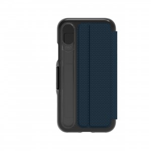 Купить Чехол-книжка GEAR4 Oxford for iPhone X Blue (IC8OXDBLU)