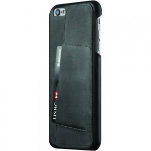 Купить Кожаный чехол с отделением для карт MUJJO Leather Wallet Case 80° iPhone 6 Plus/6s Plus Black (MUJJO-SL-084-BK)