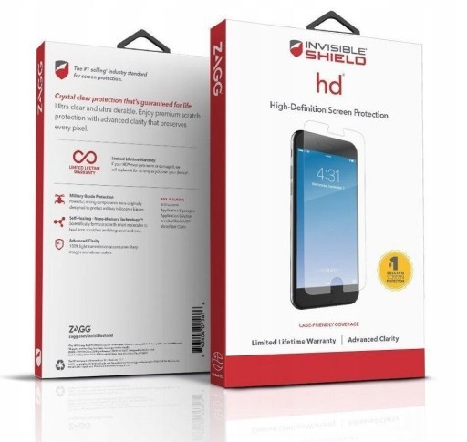 Защитное стекло InvisibleShield Glass+ Vivo Y93 Screen Clear (200102693)
