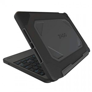 Купить Чехол-клавиатура ZAGG Rugged Book для iPad Mini - backlit Black (IM3RGD-BBU)