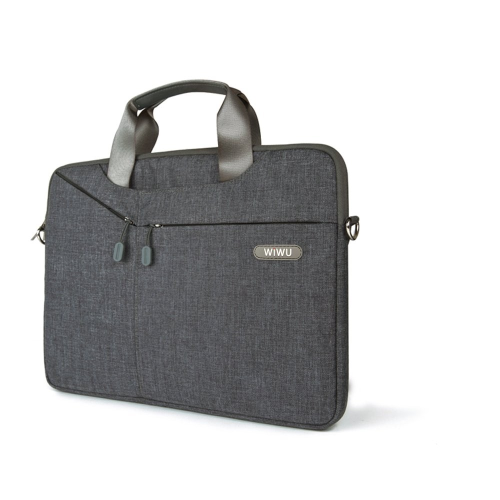 Чехол-сумка WIWU 15.6 Gent Business handbag Grey