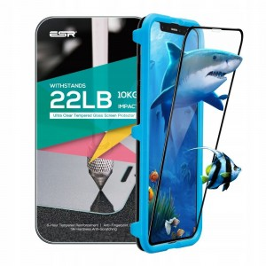 Купить Полноэкранное защитное стекло ESR 3D Full Coverage Glass Film Black Edge iPhone XS/X