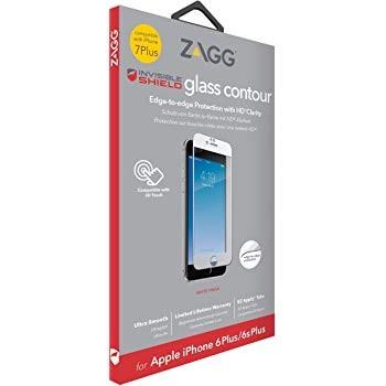 Защитное стекло + бампер InvisibleShield Glass+ Contour 360 - Full Body with Bumper Case - White -iPhone 7/8 Plus White (200101139)