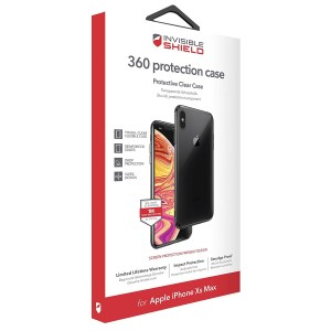 Купить Защитное стекло + чехол InvisibleShield 360 protection Case - Apple iPhone Xs Max Clear (200301923)