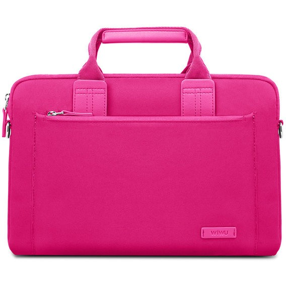 Чехол-сумка WIWU 15.4'' Athena Handbag Pink