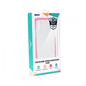 Купить Противоударный чехол ESR Air-Guard Pink iPhone XS/X