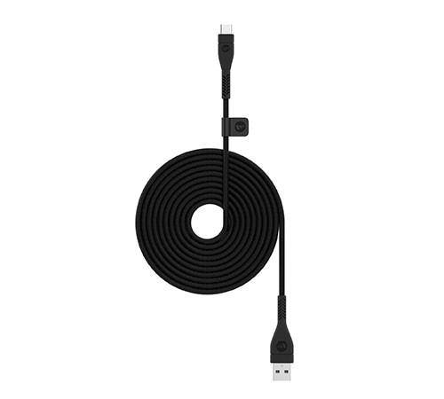 Кабель mophie PRO USB2.0 A-C 2m Black Black (3611_PRO-2.0-AC-2M-BLK)