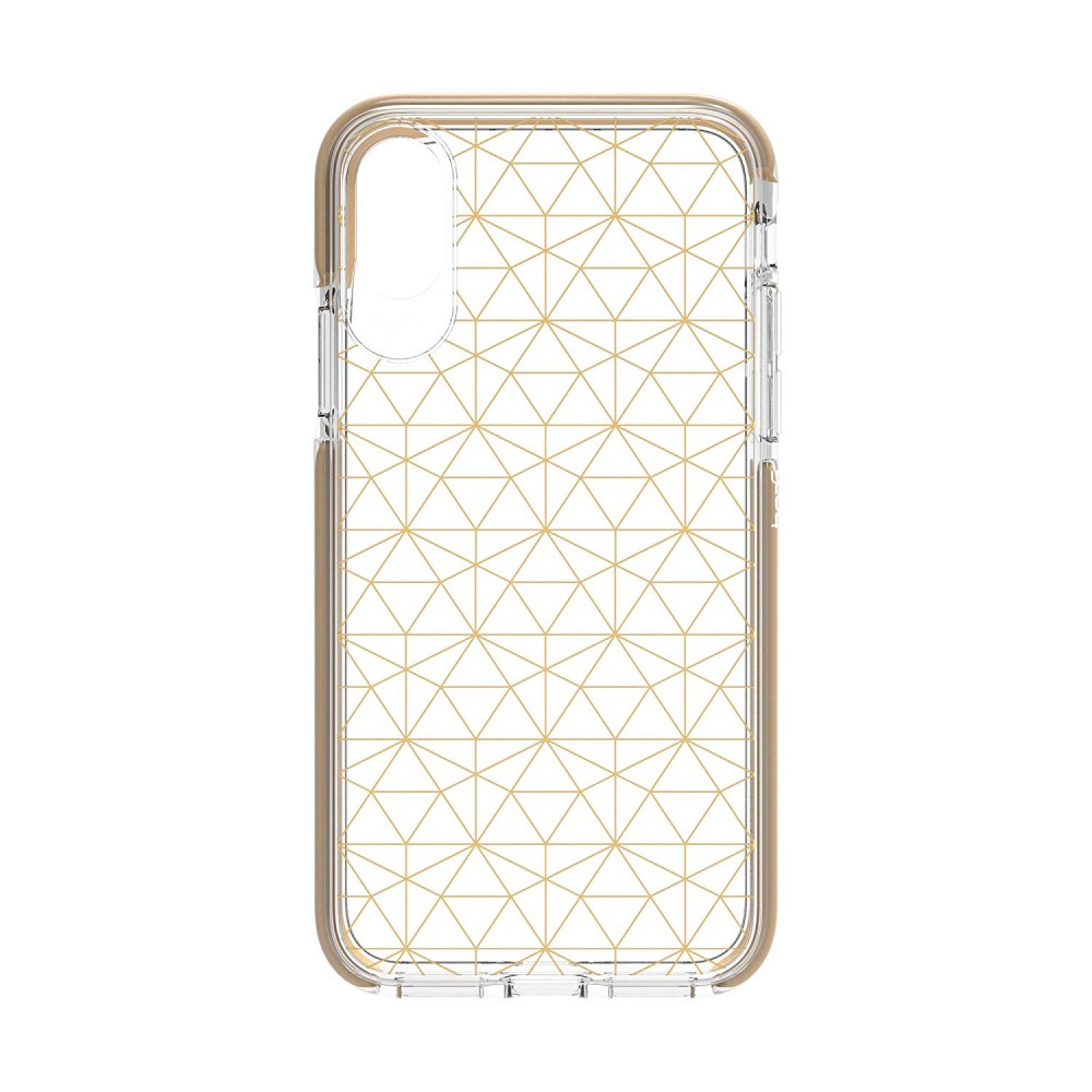 Чехол GEAR4 Victoria iPhone X (Geometric Gold) (IC8VICGGLD)