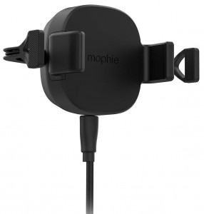 Купить Автодержатель с беспроводной зарядкой mophie Universal Wireless-Vent Mount-International Black (409901475)