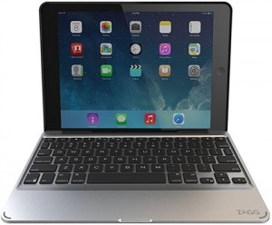 Купить Чехол-клавиатура ZAGG Slim Book для iPad Air - backlit Black (ID5ZF2-BBU)