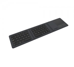 Купить Портативная клавиатура ZAGG Universal Keyboard-Tri Folding with Touchpad Charcoal (103201748)