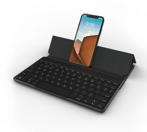 Купить Чехол-клавиатура ZAGG Universal Keyboard - 7 Color Backlit - Fabric Stand-Flex-KB-Black-English Black (103202282)
