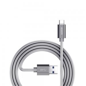 Купить Плетеный кабель ESR Cable Silver Gray USB-C Cable -1M