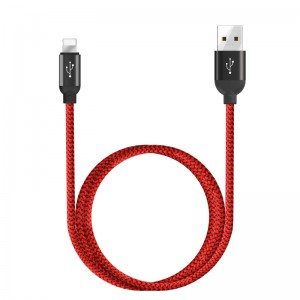 Купить Кабель WIWU Lightning charging cable Red (YZ-103)