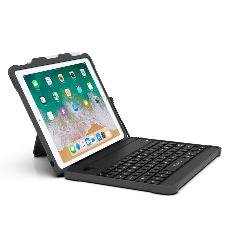 Чехол-Клавиатура WIWU MFI Armor Key Board MKB-301 для iPad 9.7 (2017/2018)/Air Black (MKB-301)