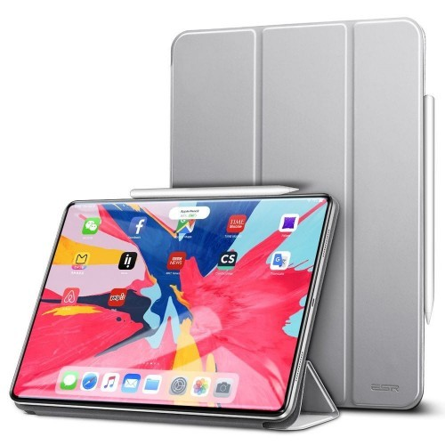 Магнитный чехол ESR Yippee Color Magnetic Silver Gray iPad Pro 11 2018