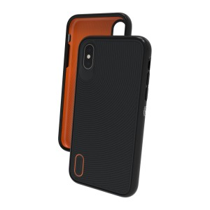 Купить Противоударный чехол GEAR4 Battersea iPhone X Black (IC8BTSBLK)