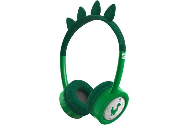 Детские беспроводные наушники iFrogz Wireless Headphone-Little Rockerz Costume-с Buddy Jack and Coiled Cable T-Rex (304101850)