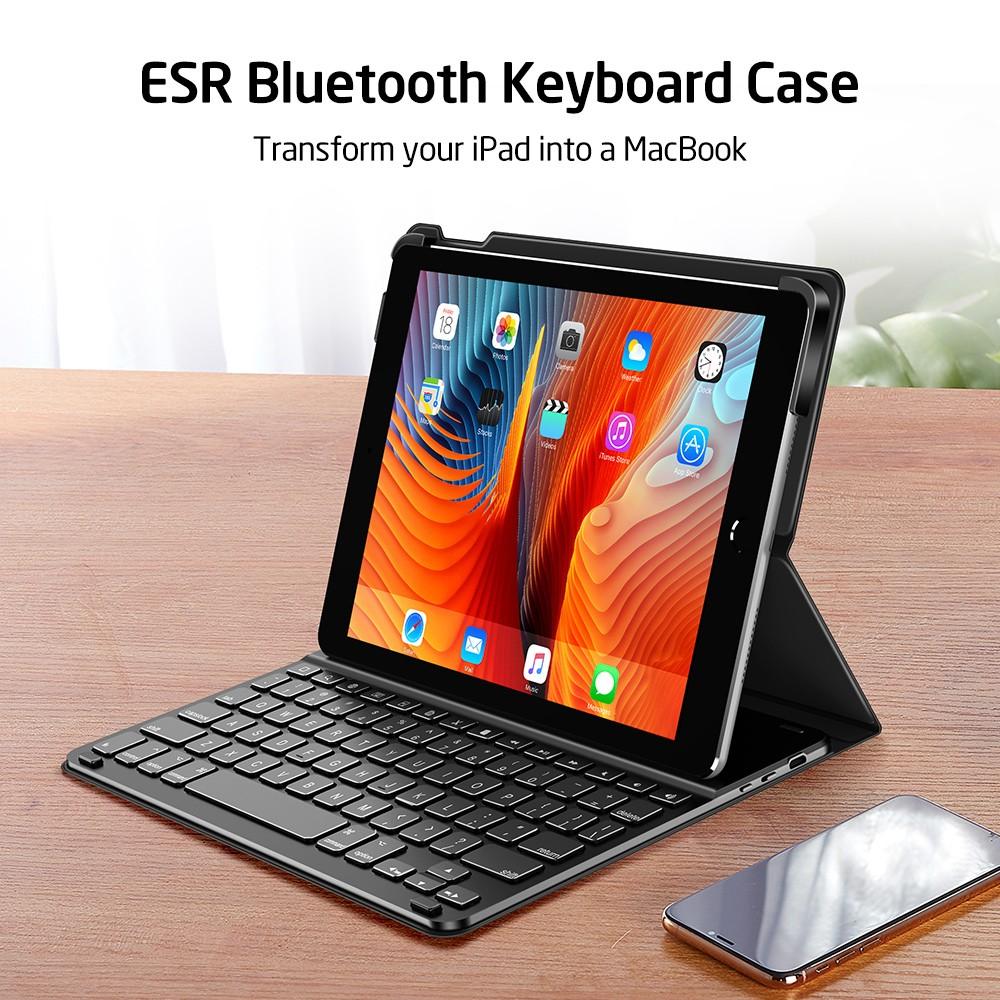 Чехол-клавиатура ESR Bluetooth Keyboard Black iPad 9.7 2018/2017