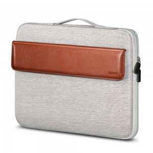 Купить Чехол-сумка ESR Macbook Sleeve Light Gray+Brown 13 inch